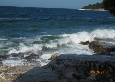 004-03_Strand von Porec nach dem Sturm