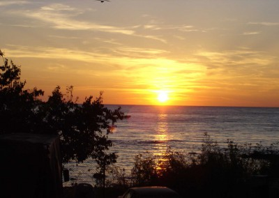 Sonnenuntergang in Porec